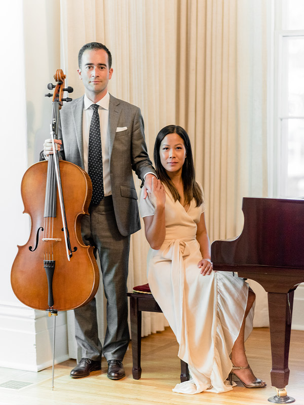 Luxe Duo More Links 2 - Something Blue at The Cape - Luxe Duo Music Ottawa - Cello and Piano - Wedding Musicians Corporate Events Private Concerts