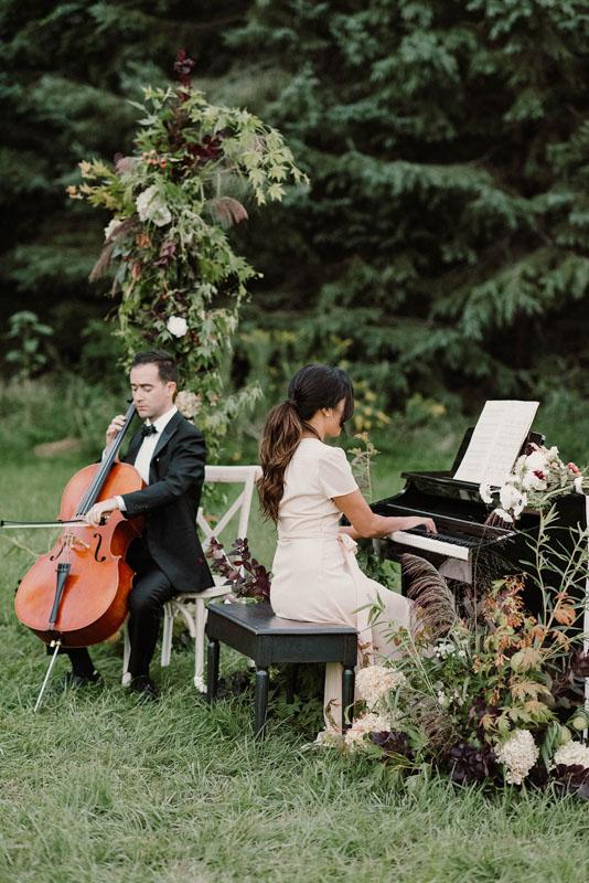 Luxe Duo Music - Brandon Dian Cello Piano - Wedding Musicians Ottawa Corporate Event Musician Private Concerts - From the Garden Editorial-612