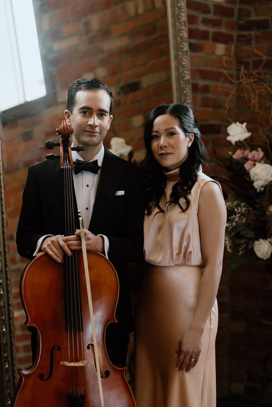 Luxe Duo Music - Brandon Dian Cello Piano - Wedding Musicians Ottawa Corporate Event Musician Private Concerts - La Boutique Studio Branding Shoot 7