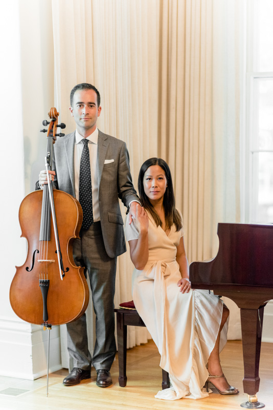 Luxe Duo Music - Brandon Dian Cello Piano - Wedding Musicians Ottawa Corporate Event Musician Private Concerts - SomethingBlue-TheCape366