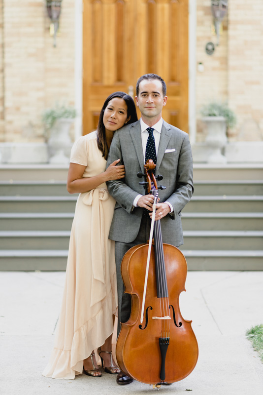 Luxe Duo Music - Brandon Dian Cello Piano - Wedding Musicians Ottawa Corporate Event Musician Private Concerts - SomethingBlue-TheCape409